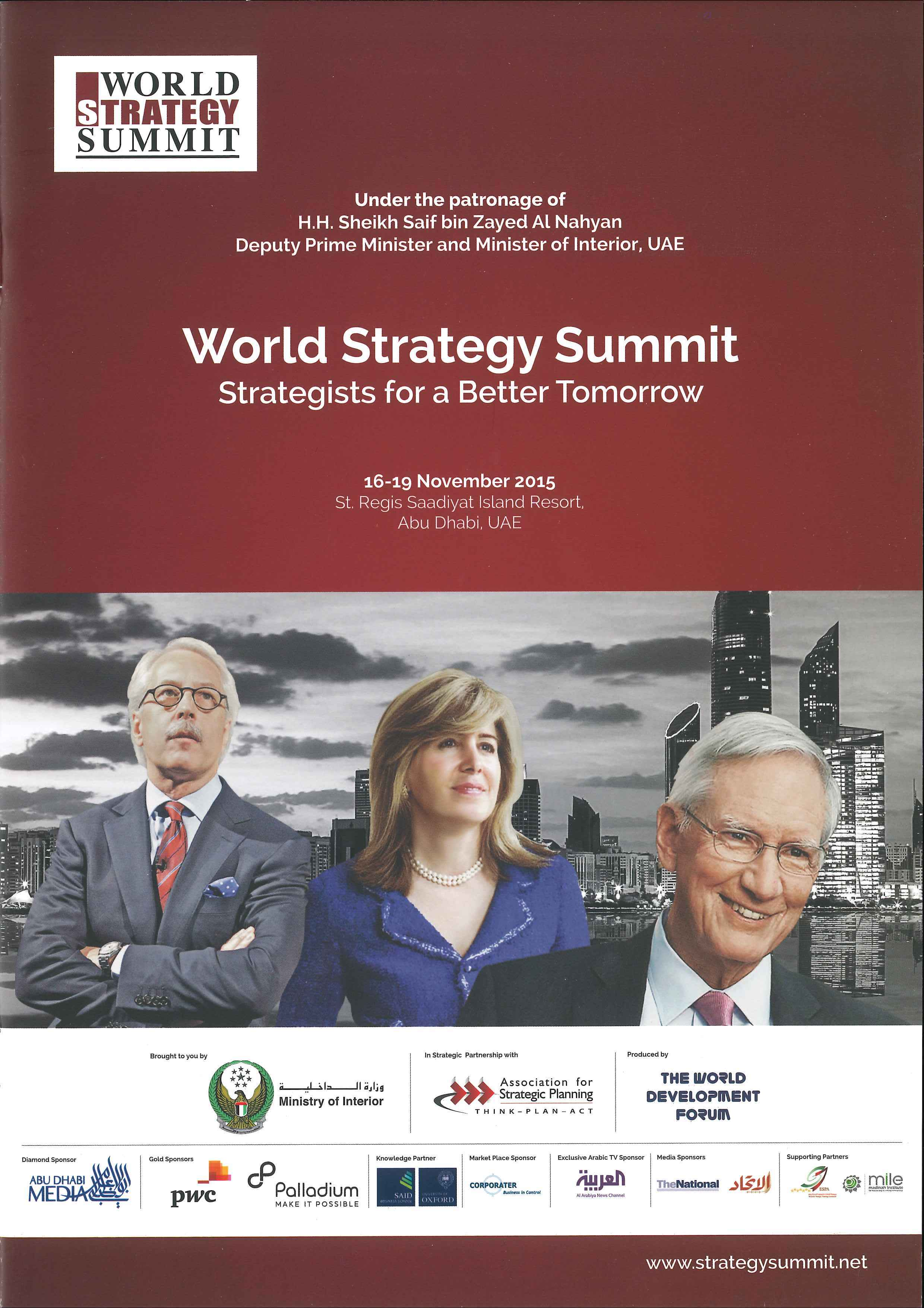 Portada World Strategy Summit